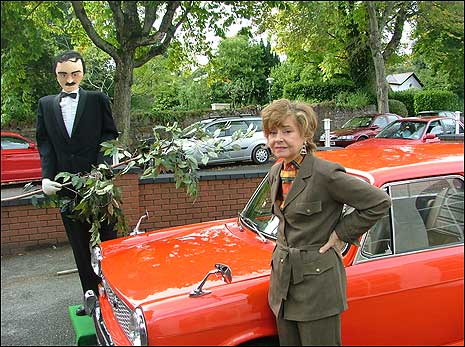 Sybil in Austin 1100 reopens Fawlty Towers