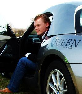 Queen cum BMW