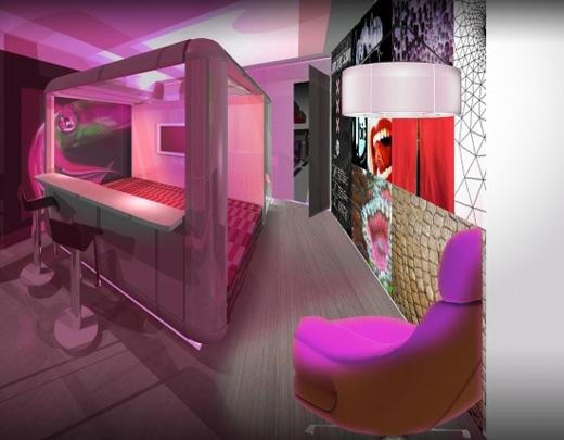 Qbic dutch answer to easy hotel yotel and hotel everland for Hotel amsterdam cube