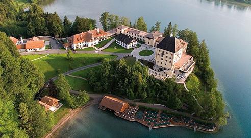 Schloss Fuschl Airview