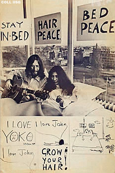 LENNON ONO HILTON SLEEP IN