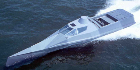 Very Slender Vessel US Marine