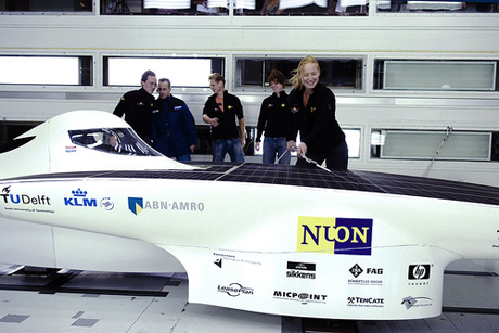 Nuna4 Wind Tunnel Tested