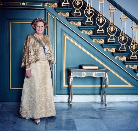 Queen Beatrix 70
