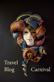 Travel Blog Carnival Venetian Logo