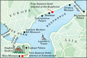 Istanbul Four Seasons At The Bosphorus Location