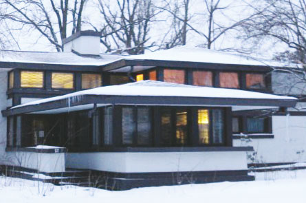 Davidson House Buffalo By Frank Lloyd Wright