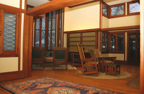 Davidson House Buffalo By Frank Lloyd Wright 02