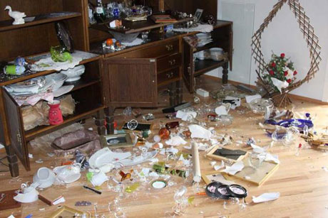 Firts Picture of Iceland Earthquake Result