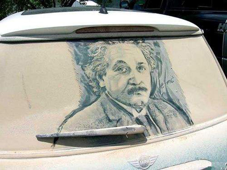 Einstein on Dirty Mini