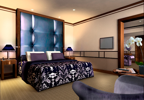 The Ellington Bedroom