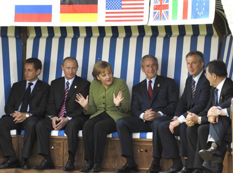 Postcard from a recent G8 Top