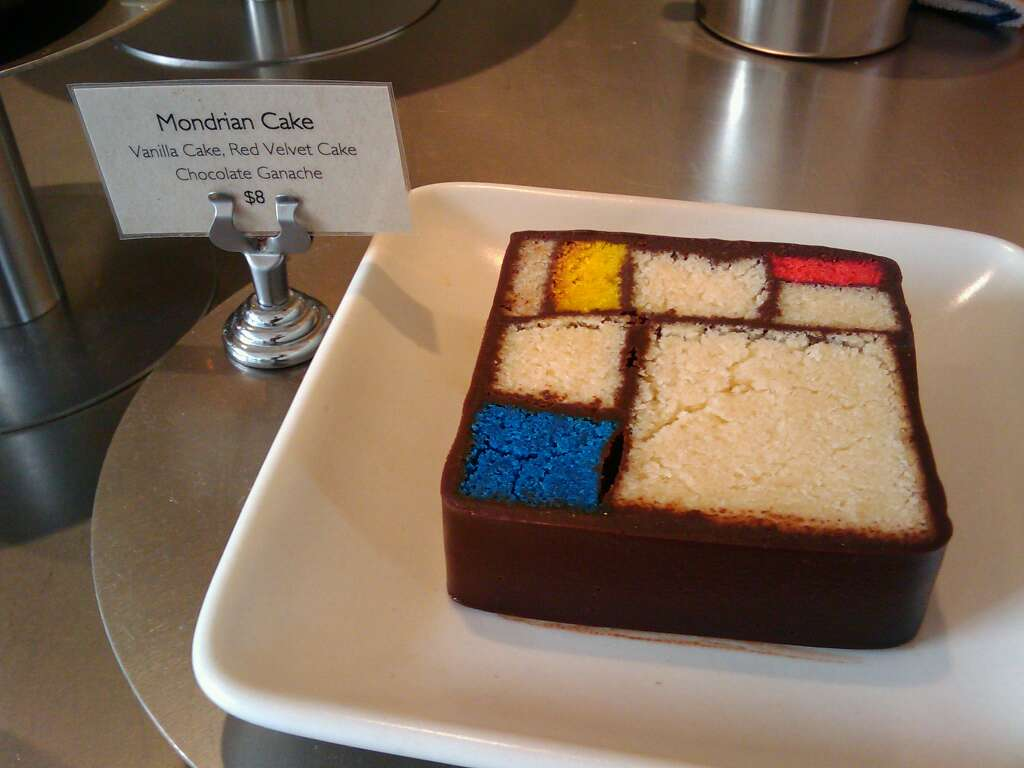 Mondrian Cake at the Moma