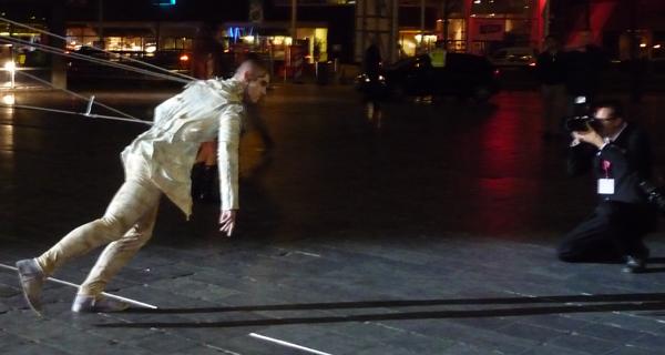 Dance Outside awaiting Public at Holland Dance Festival P1050356