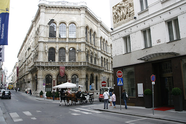 Style Hotel Vienna with Café Central