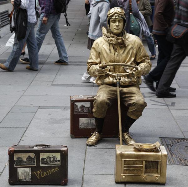 Vienna Street Artist 2