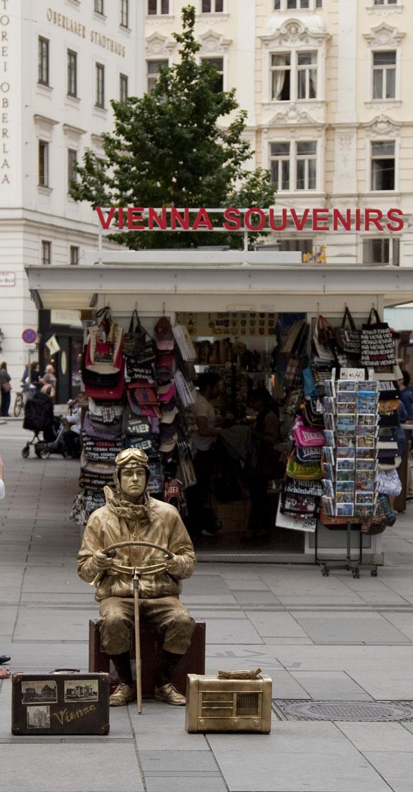 Vienna Street Artist 1