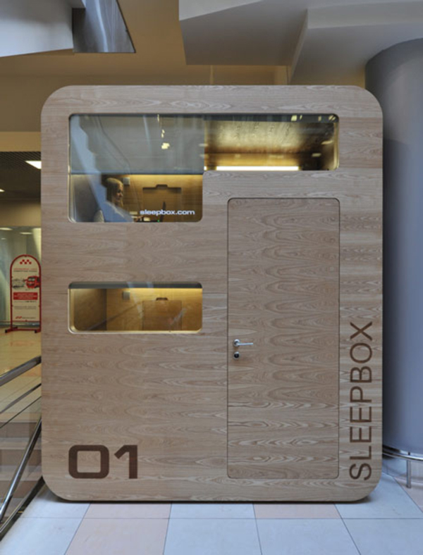 Sleepbox 01 by Arch Group 01