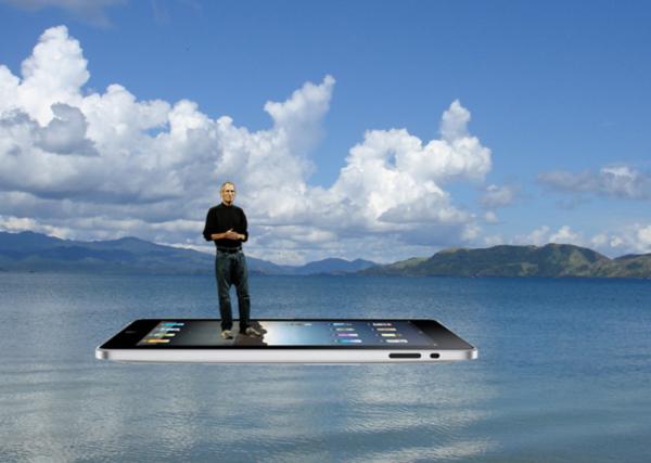 Steve Jobs Floating IPod