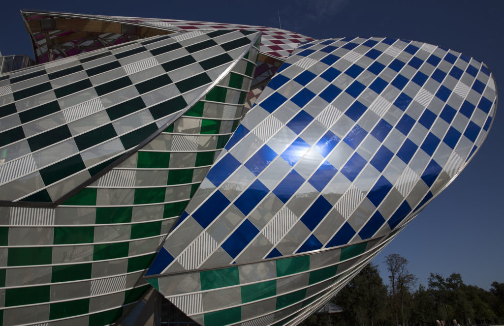 Louis Vuiton Foundation Paris by Frank Gehry