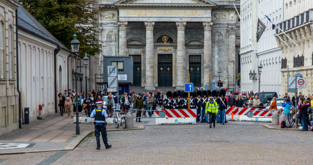Changing of the Guard in Copenhagen 03