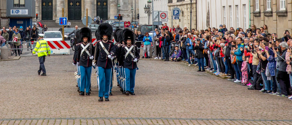 Changing of the Guard in Copenhagen 06