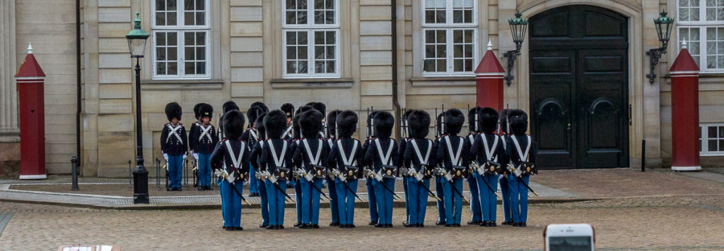 Changing of the Guard in Copenhagen 07