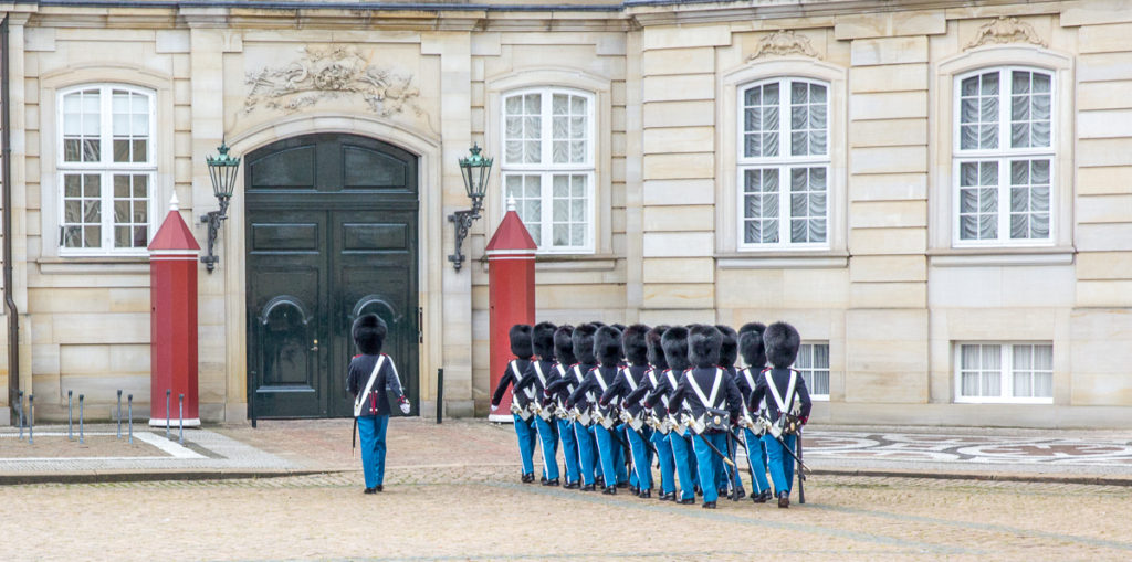 Changing of the Guard in Copenhagen 09