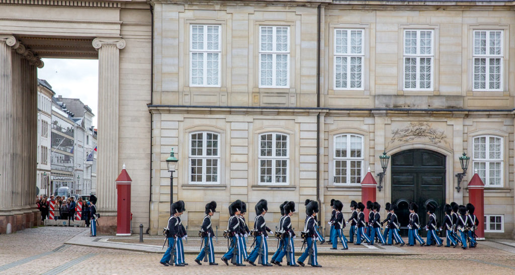 Changing of the Guard in Copenhagen 10