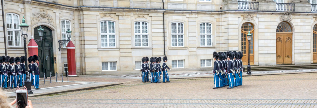 Changing of the Guard in Copenhagen 12