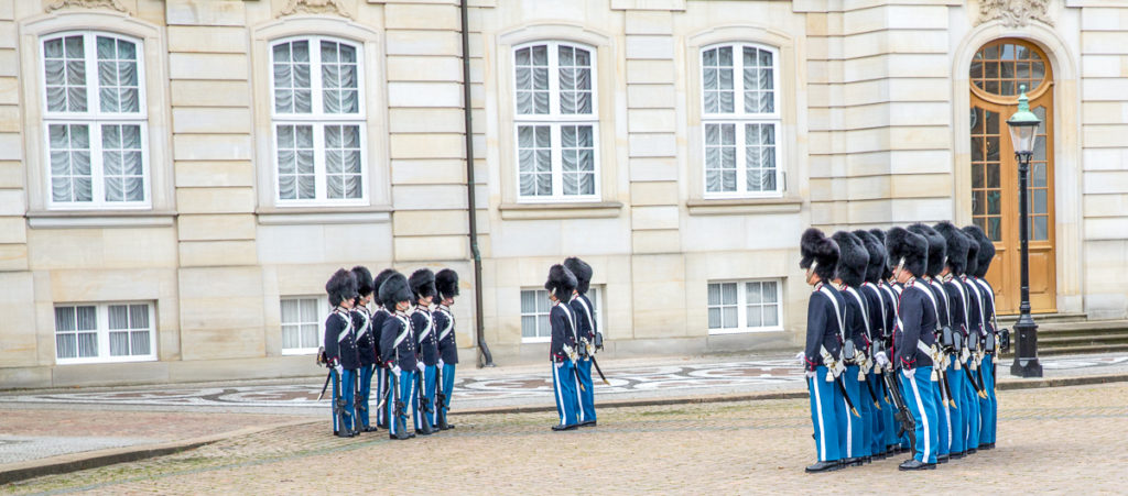 Changing of the Guard in Copenhagen 13