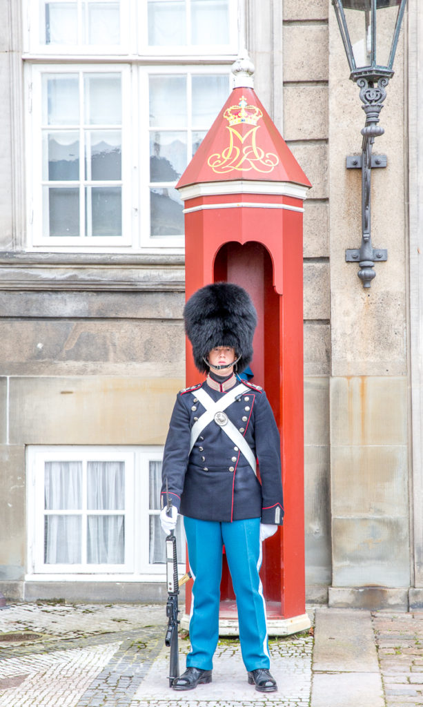 Changing of the Guard in Copenhagen 14