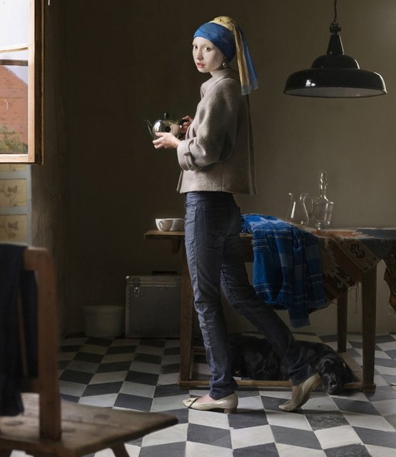 The Pearl Earring by Dorothee Golz