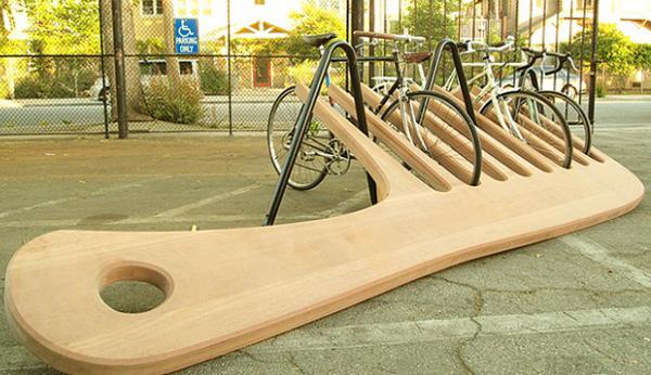 Comb-Bike-Stand