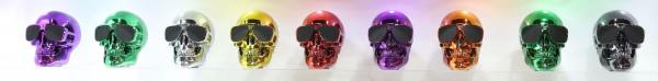 Jarred Skull Speakers