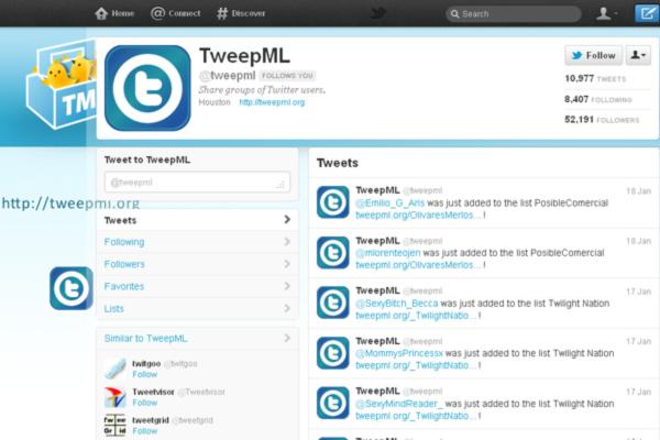 TweepML-(tweepml)-on-Twitter
